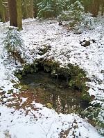 Foto záznam č. 13822 - Zimní studánka